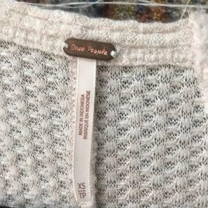 Free People Sweaters - Free people Ventura high/low thermal top xs